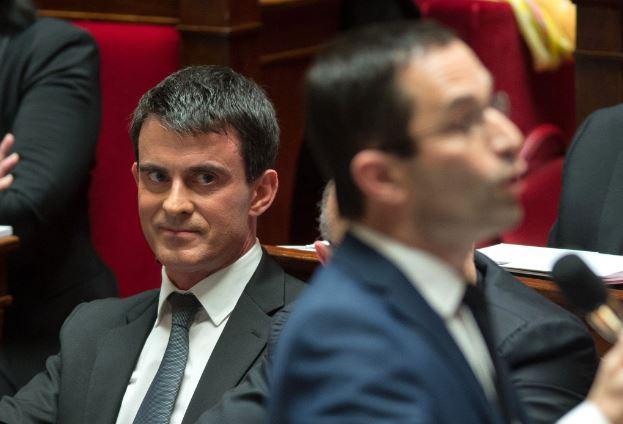 Benoît Hamon est arrivé en tête avec un net avantage face à Manuel Valls. D. R.