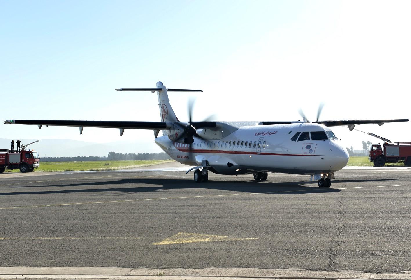 L'ATR vol AH 6252 Alger-El-Oued a été «bloqué sur piste». New Press