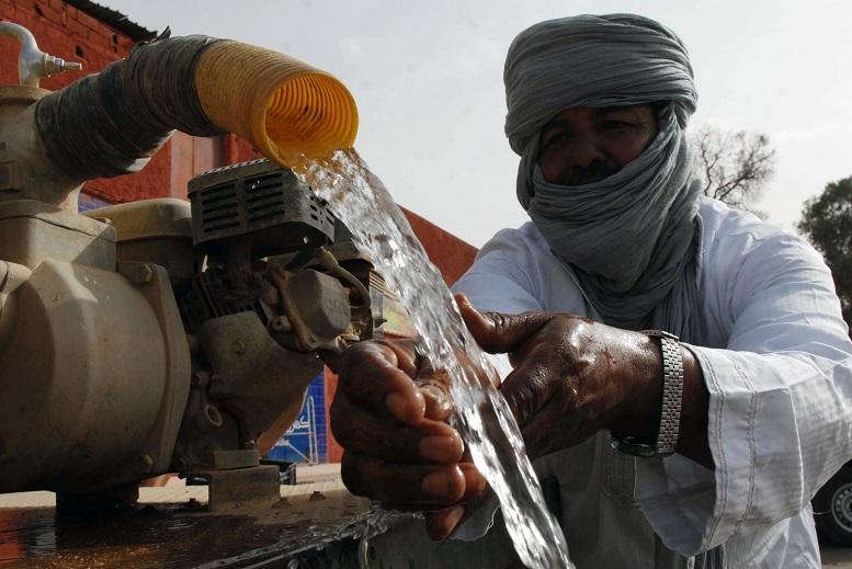 Le futur système de tarification permettra de pallier le gaspillage de l'eau. New Press