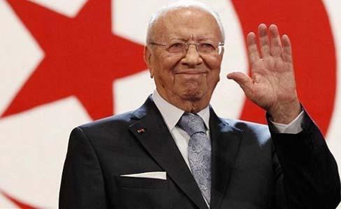 Béji Caïd Essebsi, président de la Tunisie. D. R.