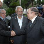 Rached Ghannouchi est reçu comme un chef d'Etat par les autorités algériennes. New Press