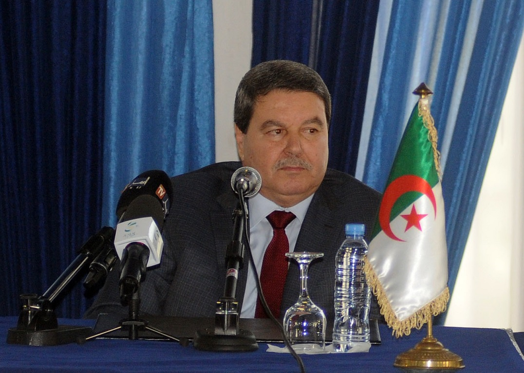 Le général-major Abdelghani Hamel, DG de la DGSN. New Press