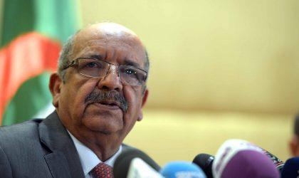 Libye : l'Algérie réitère sa position pour un règlement politique