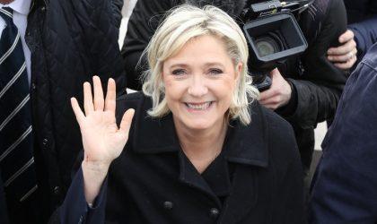 La candidate de l'extrême-droite française Marine Le Pen se rendrait-elle en Algérie ?