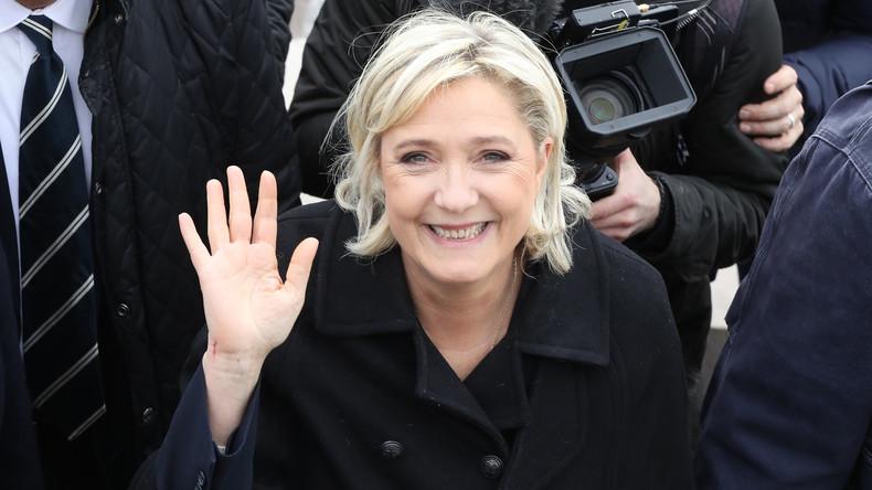 Marine Le Pen rentre d'un voyage au Liban. D. R.