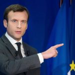 Emmanuel Macron. D. R.