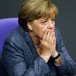 Angela Merkel. D. R.