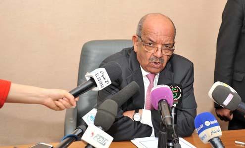 Abdelkader Messahel. New Press