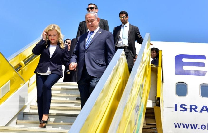 Le Premier ministre israélien et son épouse en tournée africaine. D. R.