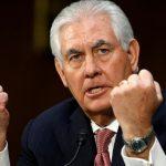 Rex Tillerson. Pour le Département d'Etat, l'Algérie «joue un rôle constructif». D. R.