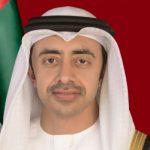 Sheikh Abdullah Ben Sayed Al-Nahyan. ministre des Affaires étrangères. D. R.