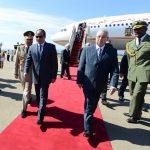 Le président égyptien Abdelfattah Sissi reçu à Alger, en juin 2014. New Press