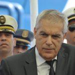 Boudjema Talai, ministre des Transports et des Travaux publics. New Press