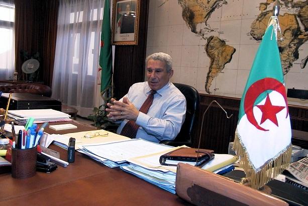 Le défunt Ali Tounsi. New Press
