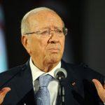 Le président Beji Caïd Essebsi. D. R.