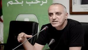 Amar Bouras, président de la Fédération algérienne d'athlétisme. D. R.