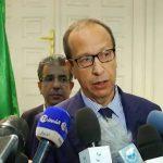 Abdesslam Chelghoum, de l'Agriculture, du Développement rural et de la Pêche. New Press