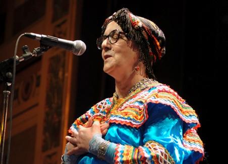 La chanteuse kabyle Nouara. D. R.