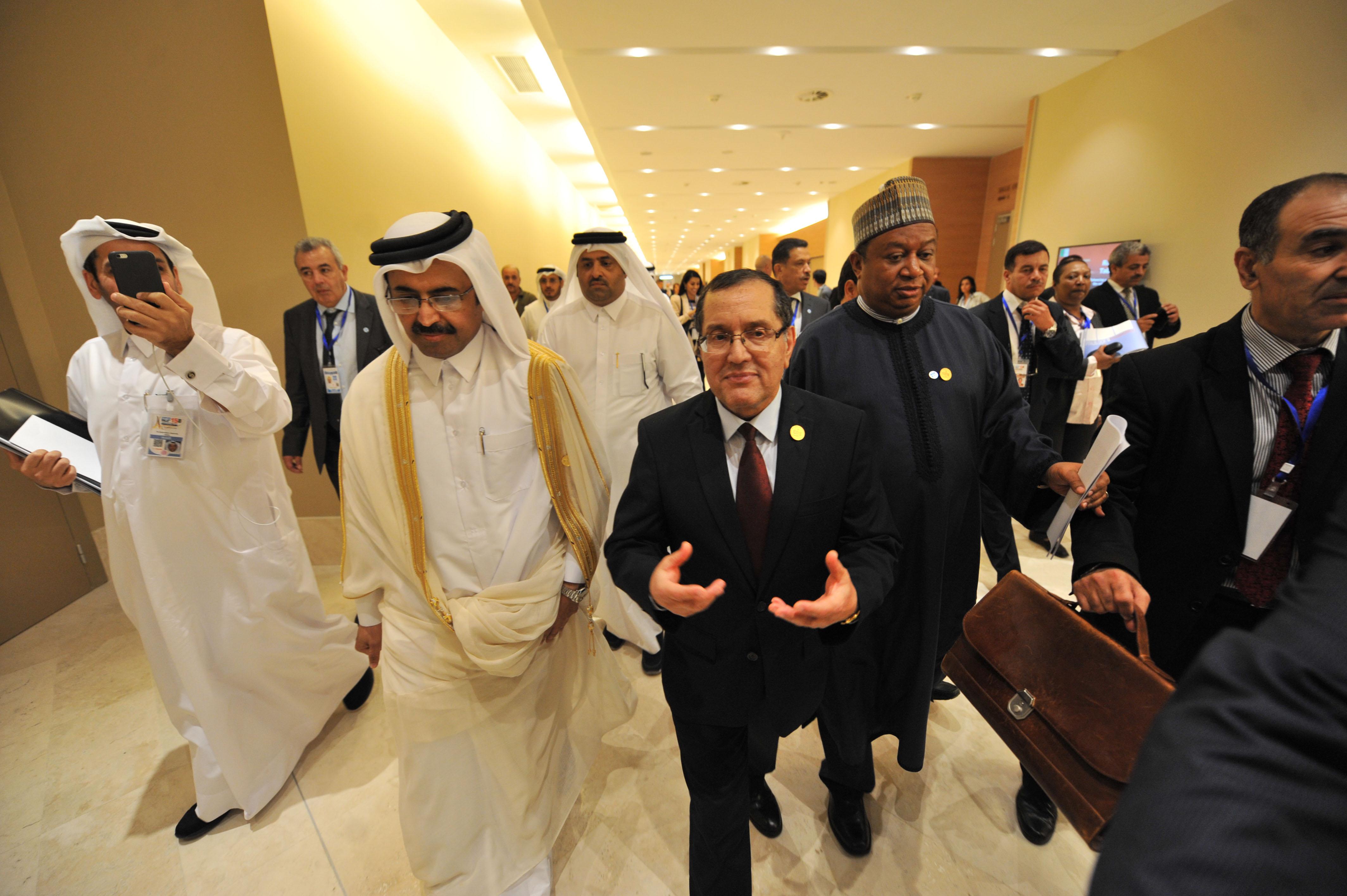 Lors de la réunion d'Alger, le 28 septembre dernier. New Press