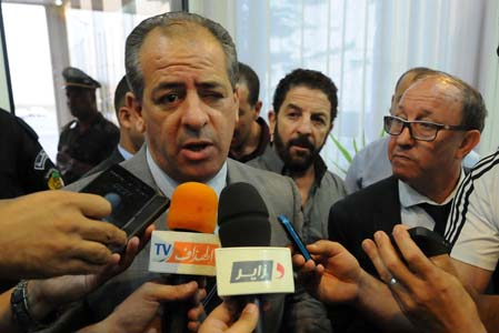 Le ministre de la Jeunesse et des Sports, El-Hadi Ould Ali. New Press