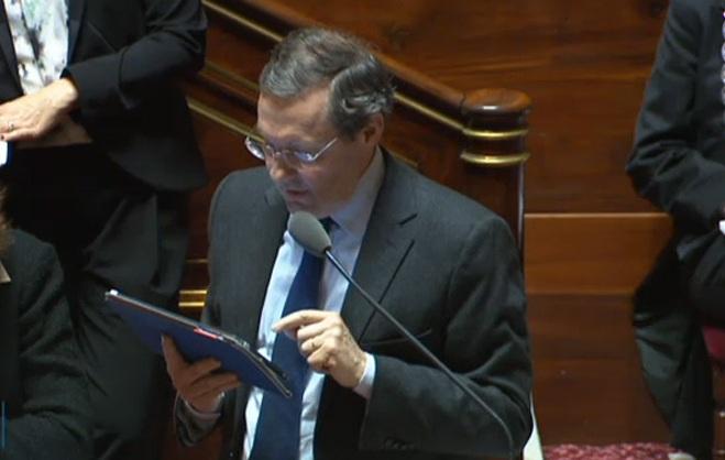 Le sénateur de droite Philippe Bas. D. R.