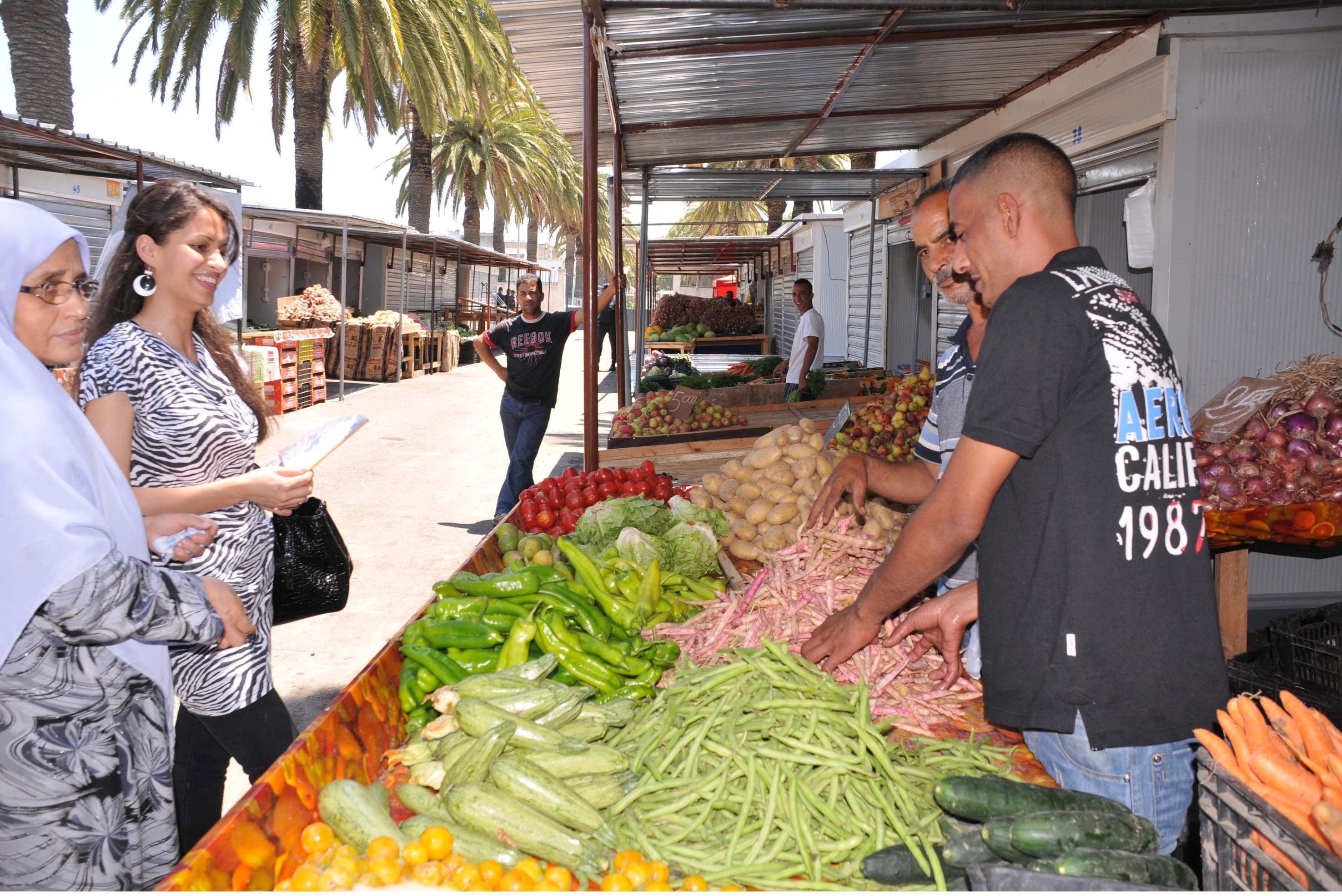 Les prix des produits agricoles frais ont enregistré une hausse de 8,53%. New Press