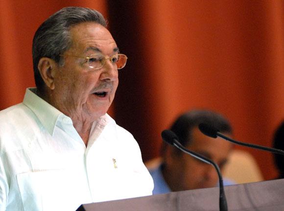Le président cubain, Raul Castro Ruz. D. R.