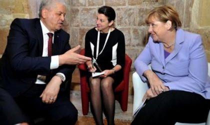 Sellal «rassure» Merkel sur l'état de santé du président Bouteflika