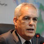 Boudjemâa Talai, ministre des Travaux publics et des Transports. New Press