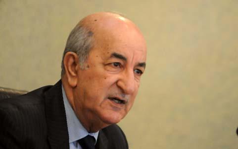 Tebboune a affirmé que les importations répondraient à des normes strictes. New Press