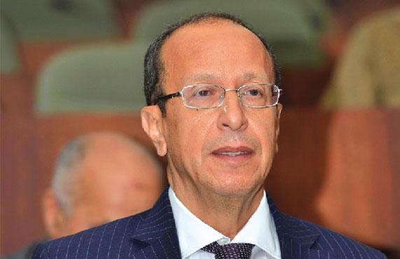 Le ministre de l'Agriculture et du Développement rural, Abdesslam Chelghoum. D. R.