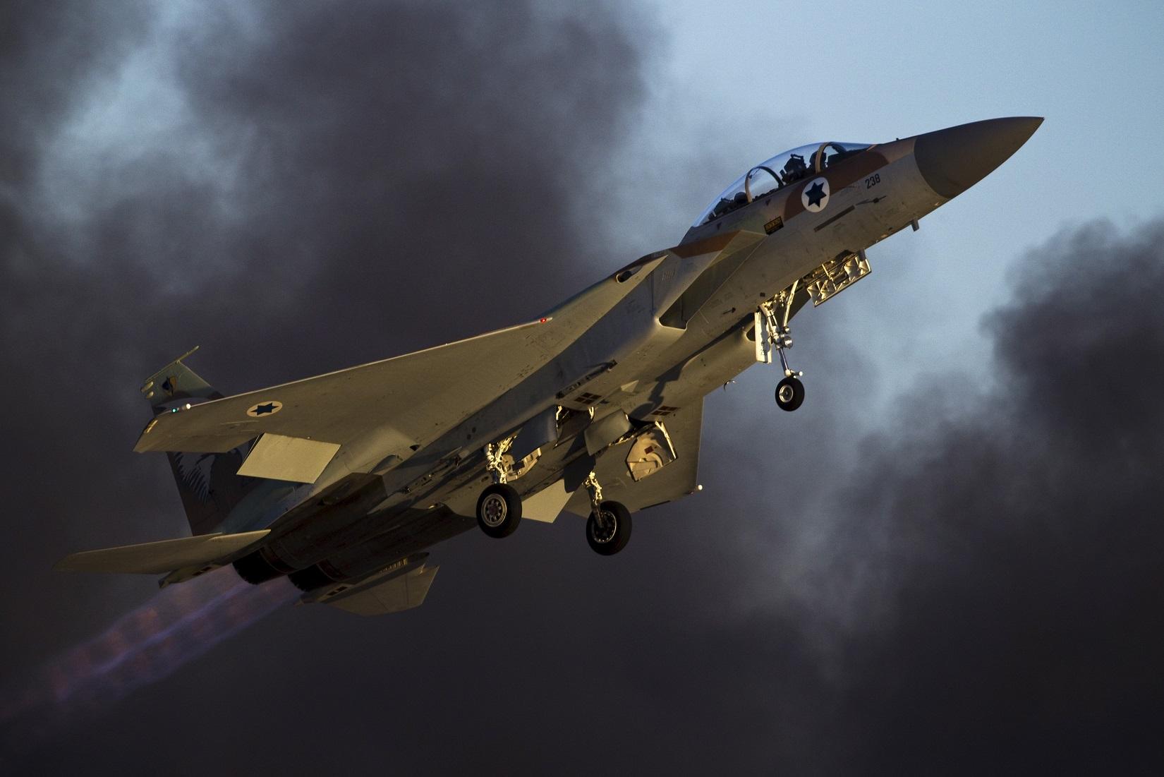 L'armée israélienne a confirmé l'attaque contre la Syrie. D. R.
