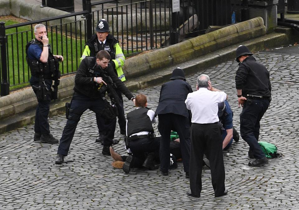 Une victime de l'attaque de Londres, refuge des prédicateurs les plus extrémistes. D. R.