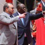 Mohammed VI à Dakar. D. R.