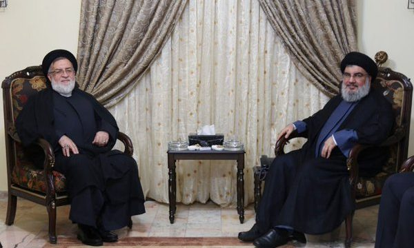 Hassan Nasrallah et Seyed Mohammad Ali Shahidi Mahalati. D. R.