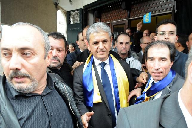 Mohcine Belabbas doit faire face au mécontentement de ses militants. New Press