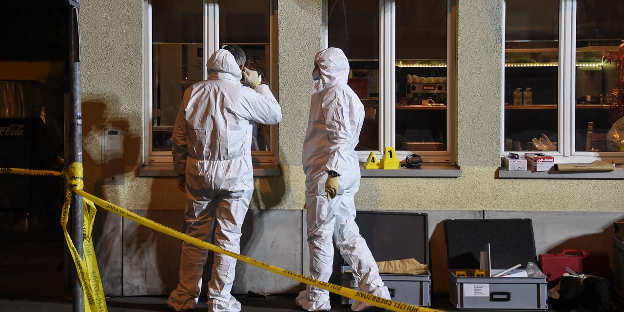 Deux hommes ont ouvert le feu hier soir sur les clients d'un café à Bâle. D. R.