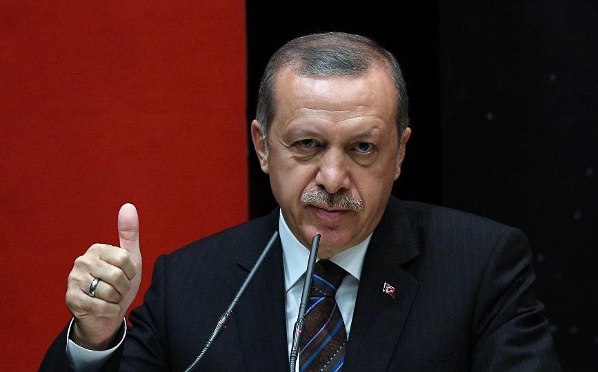 Le dictateur Recep Tayyip Erdogan. D. R.