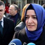 La ministre turque de la Famille, Fatma Betul Sayan Kaya. D. R.