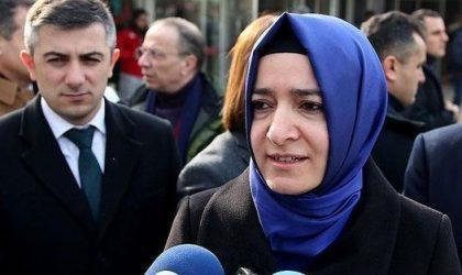La ministre turque de la Famille stoppée aux Pays-Bas