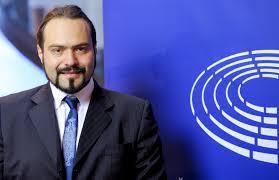 L'Eurodéputé Fabio Massimo Castaldo. D. R.