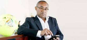 Ahmad Ahmad a été élu président de la CAF le 16 mars. D. R.