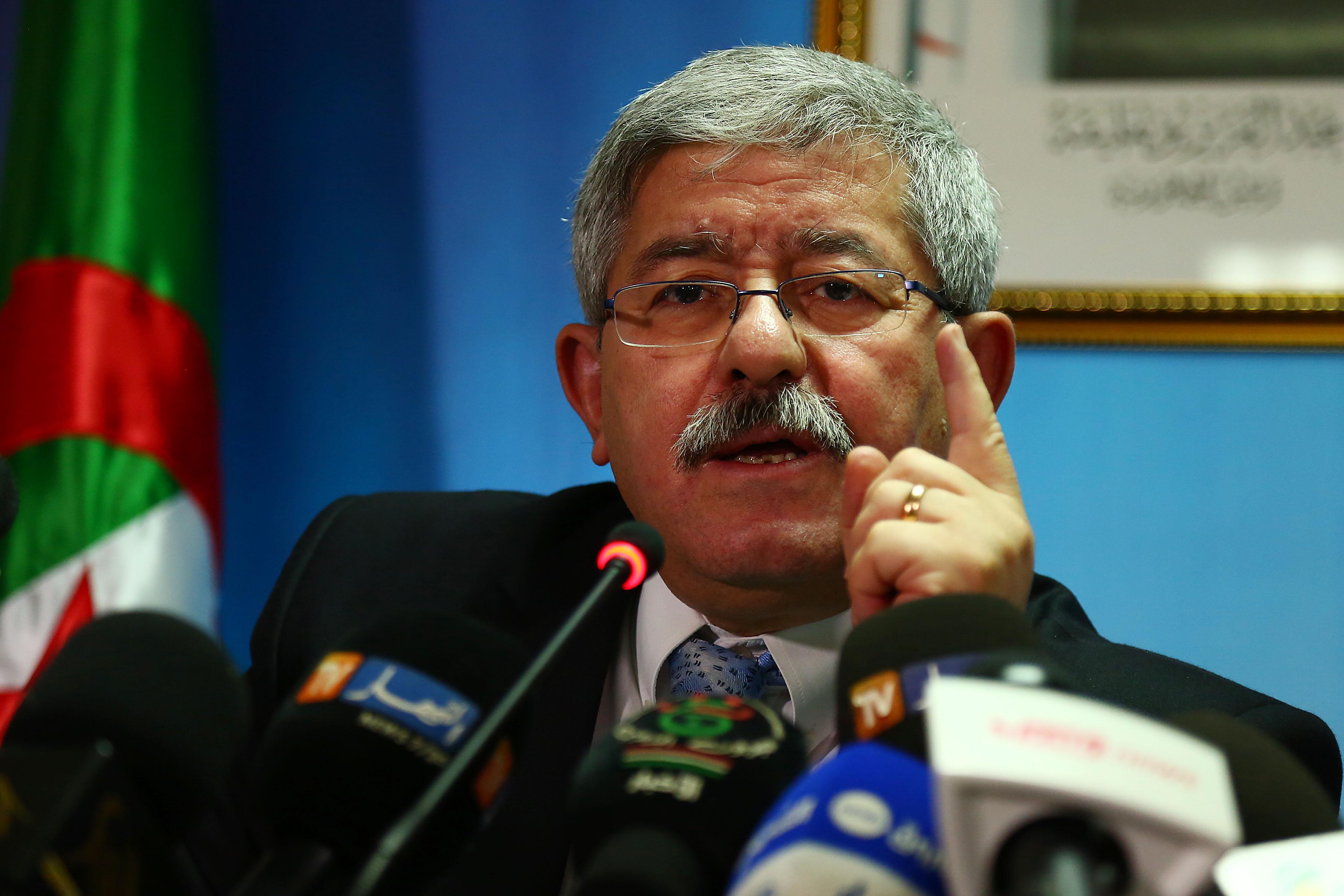 Ahmed Ouyahia, patron du RND. New Press