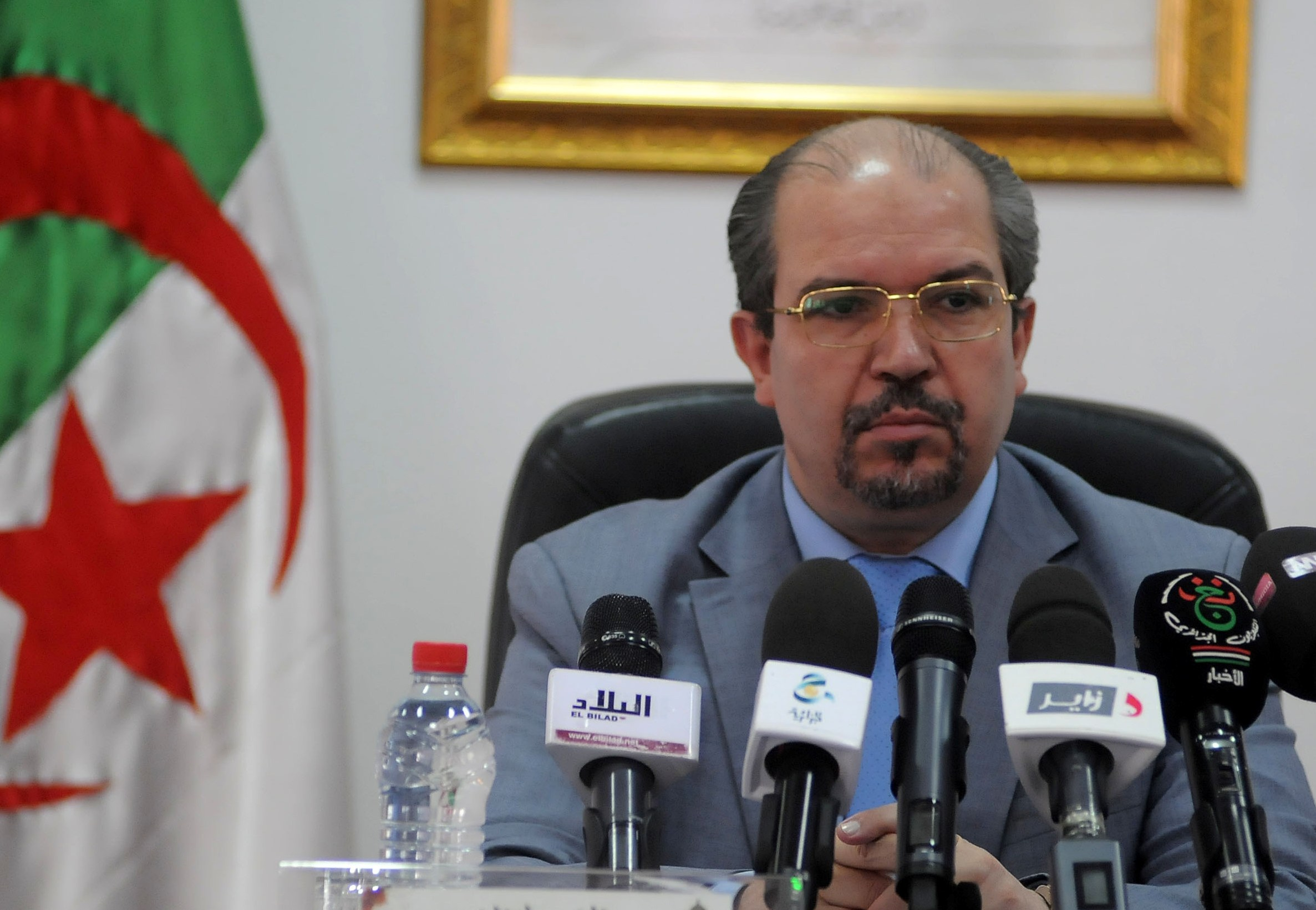 Mohamed Aïssa, ministre des Affaires religieuses et des Wakfs. New Press