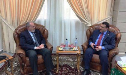 L'ambassadeur d'Irak reçu par le président du Haut conseil islamique