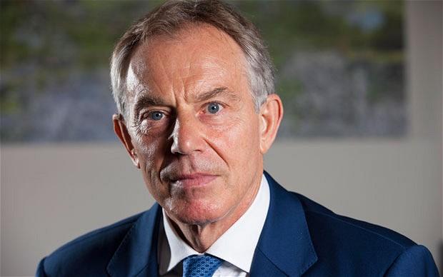 Tony Blair. D. R.