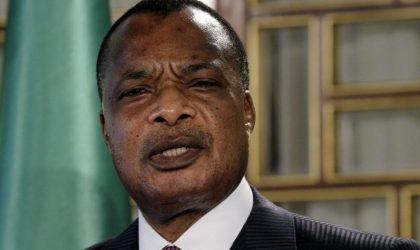 Sassou-Nguesso séduit par l'industrie mécanique à Constantine