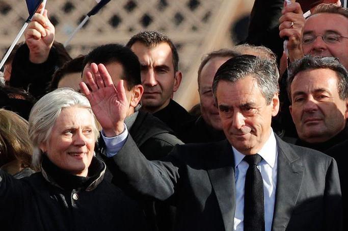 François Fillon, lors de son meeting aujourd'hui. D. R.