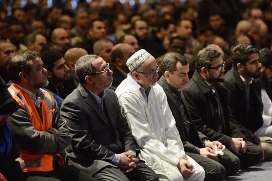 Funérailles des six victimes de l'attaque contre une mosquée à Québec. D. R.