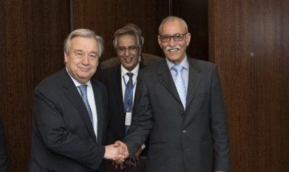 Ghali-Guterres : l'ONU invoque l'impératif de discrétion